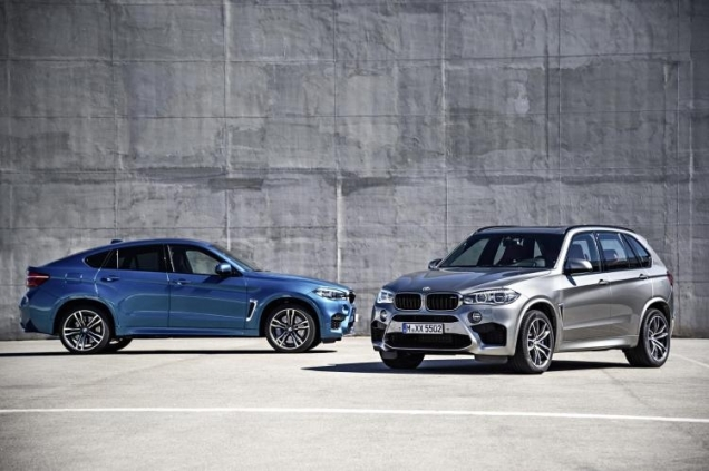 2016 Bmw X5 M And X6 M Are 567 Horsepower 39bahn Burners Ny Daily Bmw X5 And X6